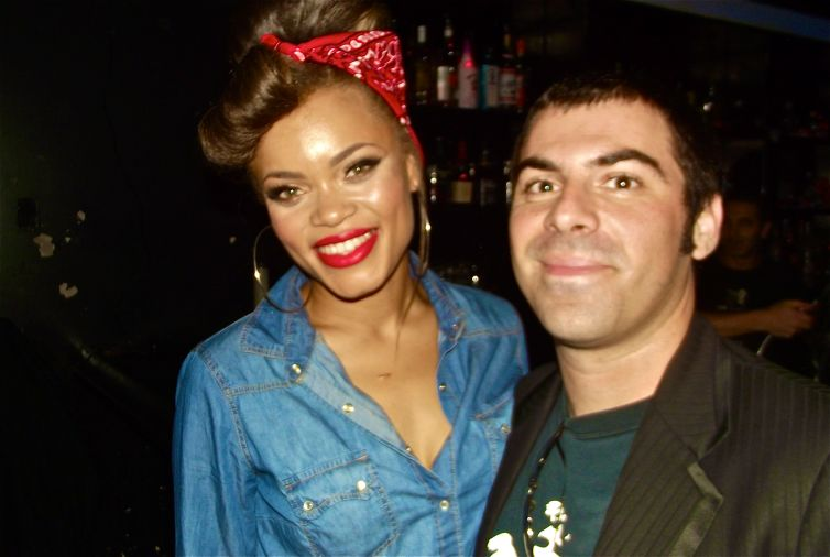Andra Day & Sal Filipelli at the Viper Room Los Angeles, CA 10-9-12