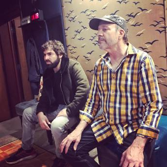 Sal Filipelli & Greg Errico recording secret project 2018